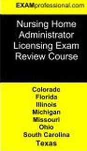 Nursing home administrator national exam what